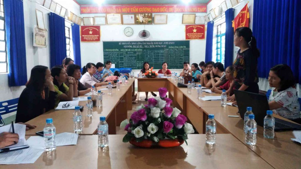 Phòng chống bạo lực học đường